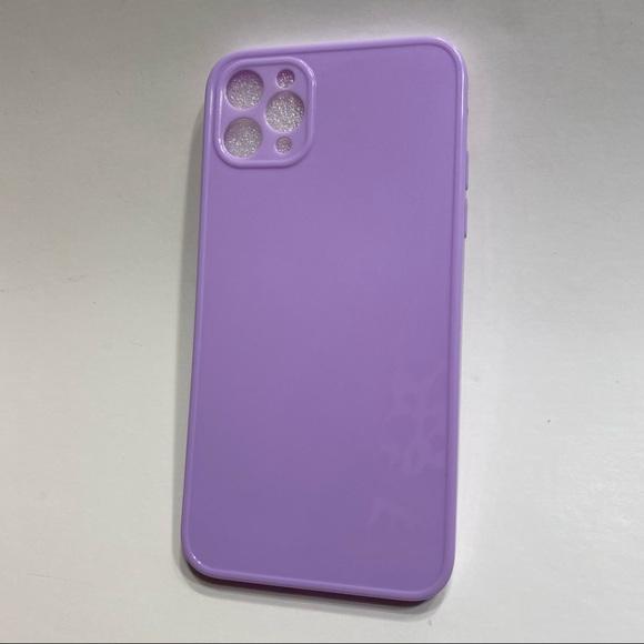 NWOT Purple Plastic iPhone 11 Pro Max Phone Case
